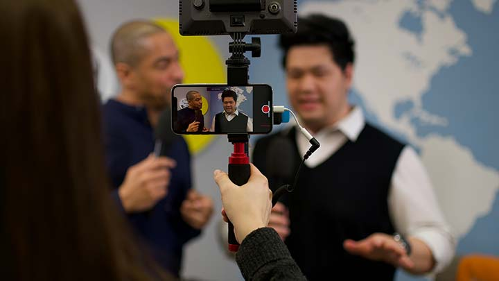 SmartJOURNALIST - App-Videoaufnahme