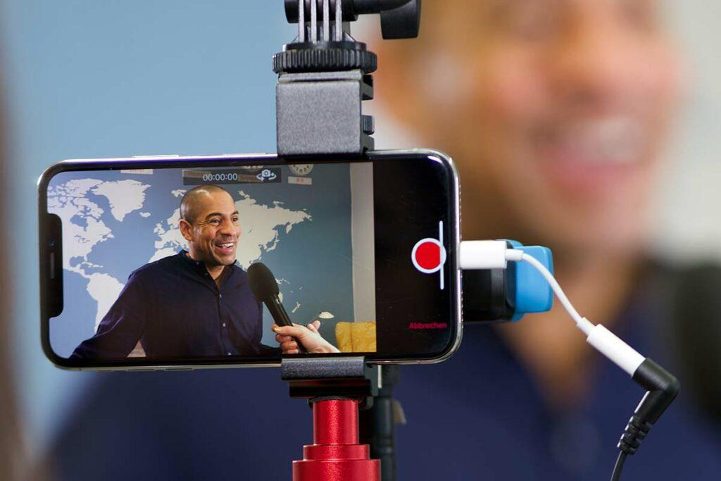 SmartJOURNALIST - Videoaufnahme mit der App