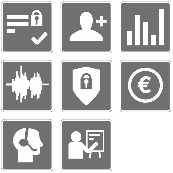 SmartJOURNALIST Features Icons Support