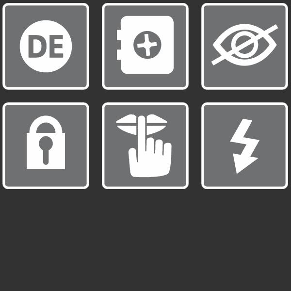SmartJOURNALIST Features Icons Sicherheit