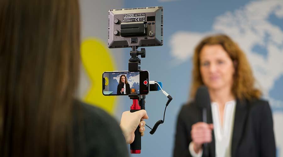 SmartJournalist App und Technik für Mobile Berichterstattung