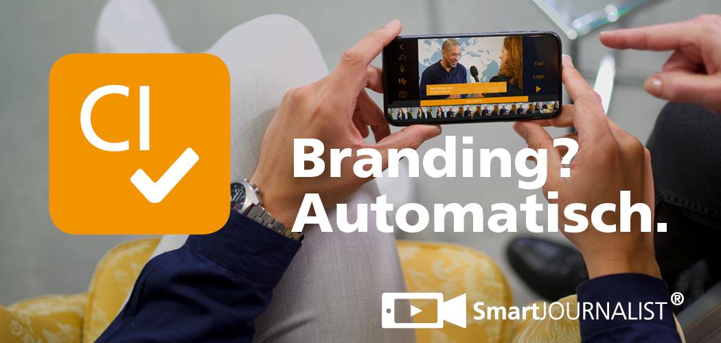 Automatisches Branding für deine Videos