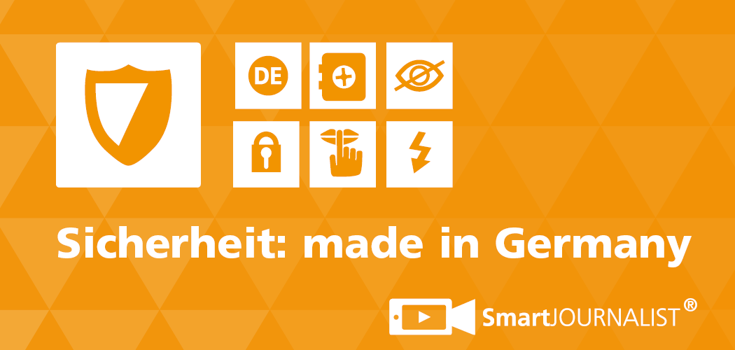 You are currently viewing SmartJOURNALIST bietet Sicherheit made in Germany